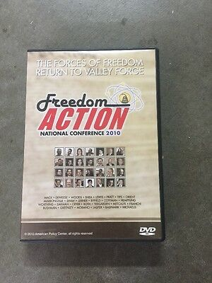 freedom action national conference  Valley Forge 2010 /8 DVDs