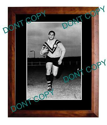 Arthur Beetson Balman Tigers Rugby Champion Large A3 Photo