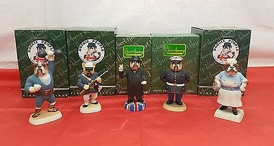 Robert Harrop Doggie People Collection 5 in Total Boxed