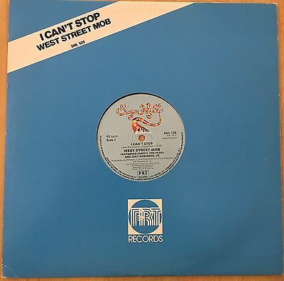 """WEST STREET MOB I Can't Stop SUGARHILL RECORDS 12"""" VINYL Free UK Post"""