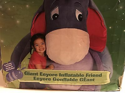 Disney Store Exclusive Eeyore Huge Inflatable Plush Winnie The Pooh 5Ft Tall
