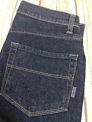 New Patagonia Women's Denim Slim Fit Bootcut Low Rise Jeans Size 27x34