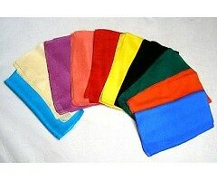 3 x Coloured Silk for Tarot /Oracle Cards / Crystal Ball -choose from 10 colours