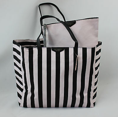 Victoria's Secret Women's Travel Tote Bag and Matching Pouch
