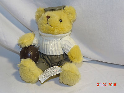 """Collectable Gary the goalkeeper 8"""" bear """"the teddy bear collection"""" with tags"""