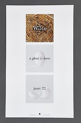 WILCO a ghost is born PROMO ONLY 8.5X14 POSTER RARE NONESUCH NICE TO FRAME