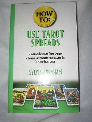 How to use Tarot Spreads Book - by Sylvia Abraham  Brand New