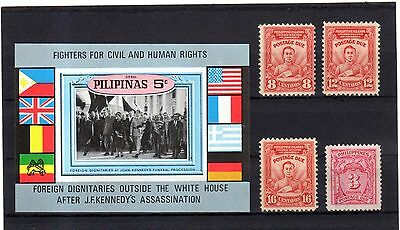 lot timbre PHILIPPINES BLOC ET lot P5