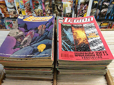 (1989) Dc Comics The Legion Of Super-Heroes #1-125 Complete Run! Keith Giffin!