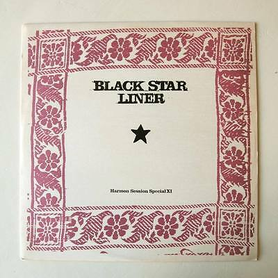 """Black Star Liner: Harmon Session Special Xi (12"""" Vinyl, 1996) * The Rootsman *"""