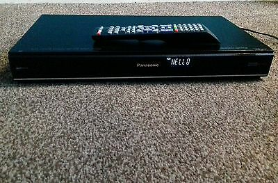 Panasonic Dmr-Hw120 500Gb Hdd Freeview Recorder Hdmi Remote Control
