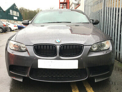 BMW E92 E93 3 Series Coupe Cab Kidney Grill Grille Gloss Black 2006 - 2010 Sport