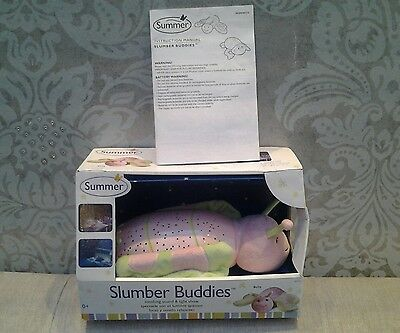 slumber buddies bella butterfly soothing sound/light show