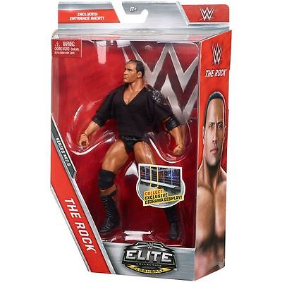 WWE Mattel Elite Collection Series 47B The Rock With Entrance Vest. BRAND NEW!