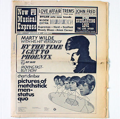 NME New Musical Express Newspaper - No. 1099 February 3 1968