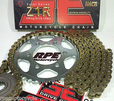 FZ-1 FZ1 '01-05 JT GOLD Z1R 530 X-Ring ULTIMATE CHAIN AND SPROCKETS KIT ZVMX GXW