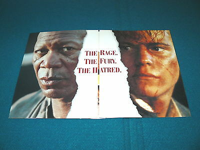 "THE POWER of ONE ""Banner Brochure & Ad Slick"" MORGAN FREEMAN @ Movie #10b"