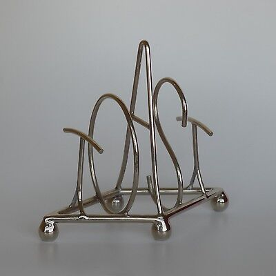 Culinary Concepts - Nickel Plated  'toast' Word Toast Rack