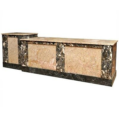 French Marble Shop Counter