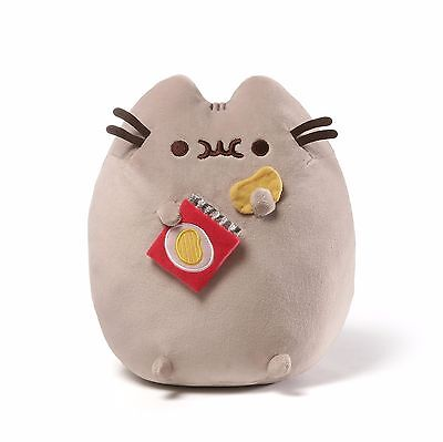 "Gund PUSHEEN 9.5"" Plush ""CHIPS""  #4058948 - Brand New"