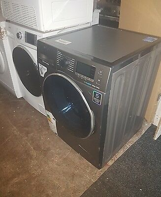 Samsung ecoubble 9kg WD90J6410AX/EU Washer Dryer-Graphite