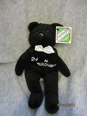 Salvino's Bammers Teddy 1998 #24 Ken Griffey Jr Al Hr Champ Bear New With Tags