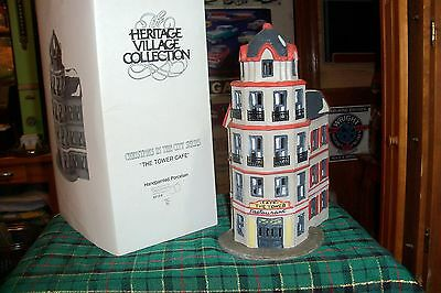 Dept 56 The Tower Cafe #65129  Cic Village / Retired  Mib