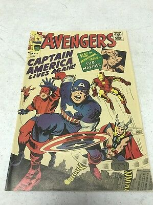 Avengers #4 Golden Record Reprint Silver Age Iconic Classic Mid grade