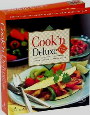 DVO Cook'n Deluxe 6.0 AMERICA'S EASIEST-TO-USE RECIPE AND MENU PLANNING SOFTWARE