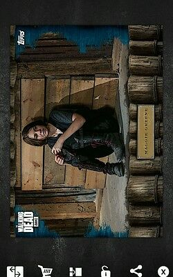 Walking Dead Topps Maggie VS 48cc Card