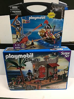 Playmobil Pirate Set- 6146 And 5894