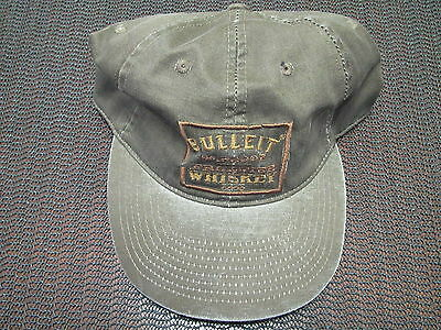 Bulleit Bourbon Frontier Whiskey Hat! Brand New! Vintage! Rare! Distressed!