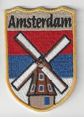 Amsterdam Netherlands Souvenir Patch