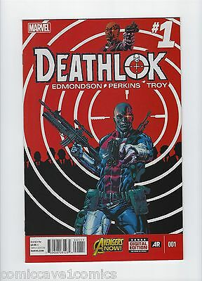 Deathlok #1 | 2014 Series | Near Mint- (9.2) | Marvel Comics