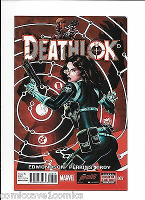 Deathlok #7 | 2014 Series | Near Mint- (9.2) | Marvel Comics