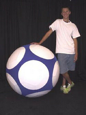 1.0m Giant Inflateable Dual Layered ProStyle Soccer Ball - Various Colours