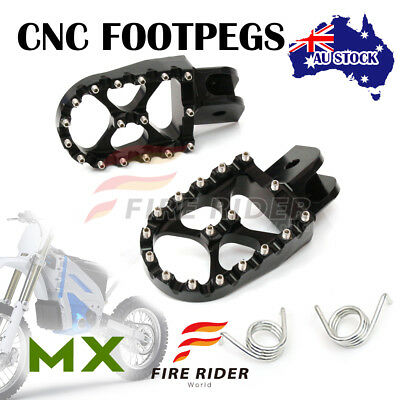 For BMW F800GS 08-13 08 09 10 11 12 13 FRW Dirt Front Black Foot Pegs