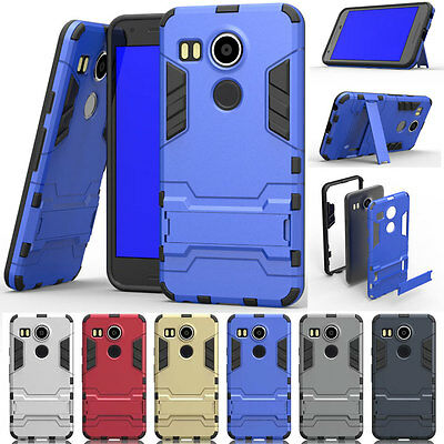 Hybrid Rubber Protector Rugged Shockproof Hard Case Cover For Google Nexus 5X 6P