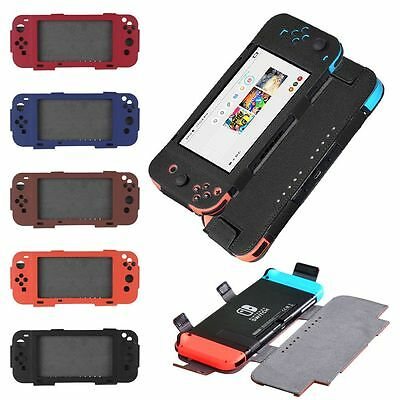 Luxury PU Leather Case Cover for Nintendo Switch FAST SHIPPING