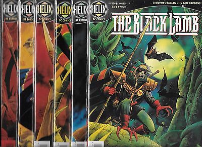 The Black Lamb #1-#6 Set (Nm-) Dc Helix Comics, Timothy Truman