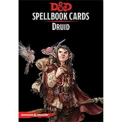 Dungeons & Dragons D&D 5E 5th Edition - Spellbook Cards (Druid) New