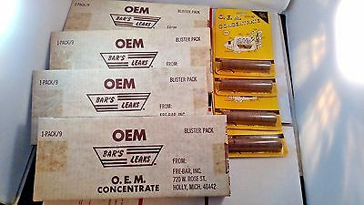Lot of 40 Bar's Leaks Radiator Stop & Seal Coolant Leak Tablet Bulk Resale OEM