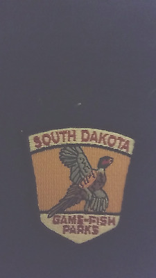 south dakota  game fish  parks DNR  police style  patch