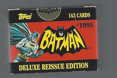 1966 Batman Reprint Topps Box Set Factory Sealed