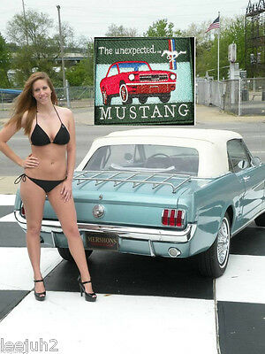 """FORD MUSTANG 1965 """"The unexpected"""" square patch"""