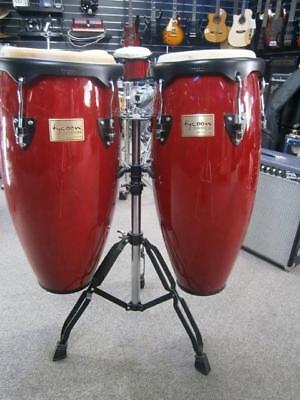 """Tycoon Congas Wine Red 10"""" & 11"""""""