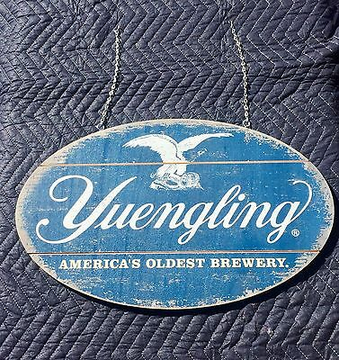 "Yuengling Americas Oldest Brewery Beer Bar  Wood Sign Double Sided ""New"" Mirror"