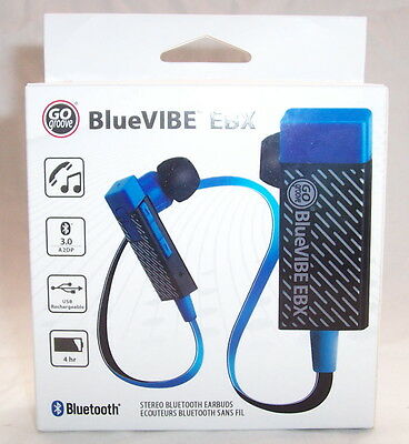 *NEW* BlueVIBE EBX Bluetooth Earphones BT iPhone iPod iPad MP3 MP4 Android Phone