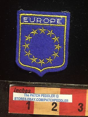 Vtg EUROPE Souvenir Patch (England France Germany Italy Spain +++)  C631