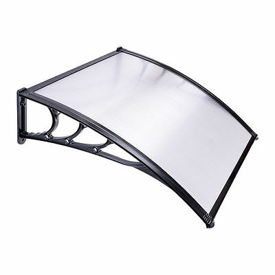 Outdoor Door&Window Canopy Awning Porch Sun Shade Shelter Patio Rain Cover